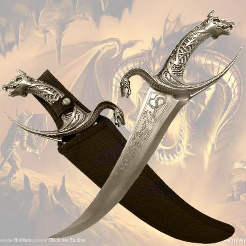Cobra Dagger With Nylon Sheath.