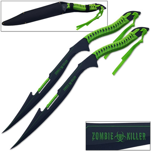 Zombie Armageddon Cutter War Blade Set