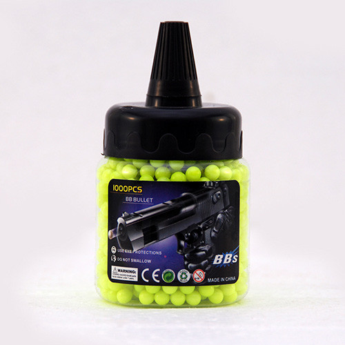 1000 6mm Airsoft BB's