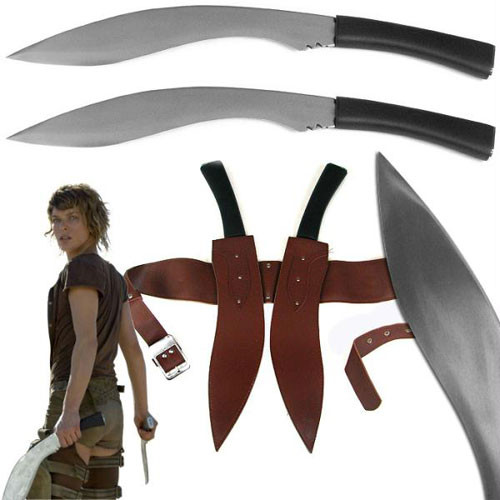 Alice's Fantasy Fixed Blade Kukri Regimental Fighting Knife 2 Pi