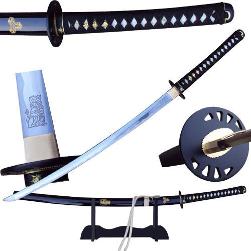 Kill Bill Bride's Sword Battle Ready Katana Lion Engraved Hattori Hanzo Steel