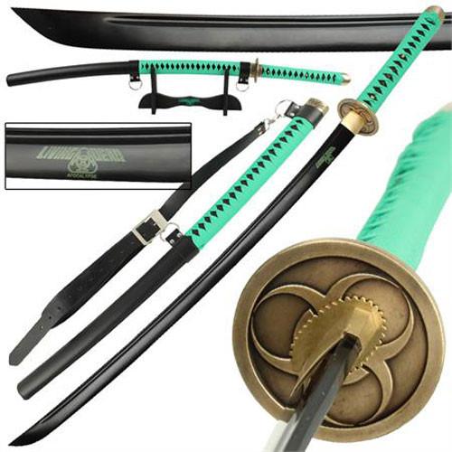 Living Dead Apocalypse High Carbon Steel Full Tang Katana Sword