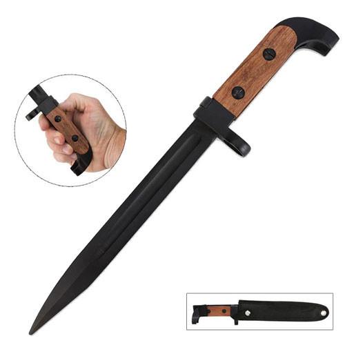 Bulgarian Style AK-47 Bayonet Knife with Sheath