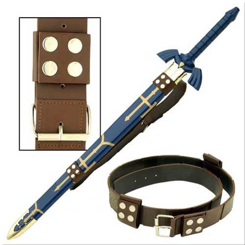 Link Hyrule Zelda Sword Leather Belt Strap EW-094