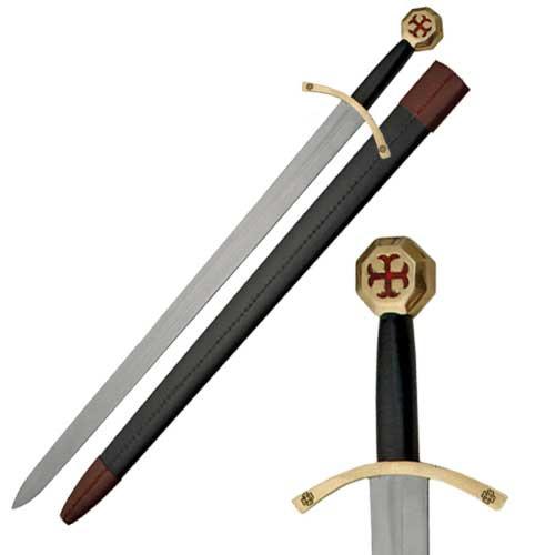 Medieval Knights of Templar Sword