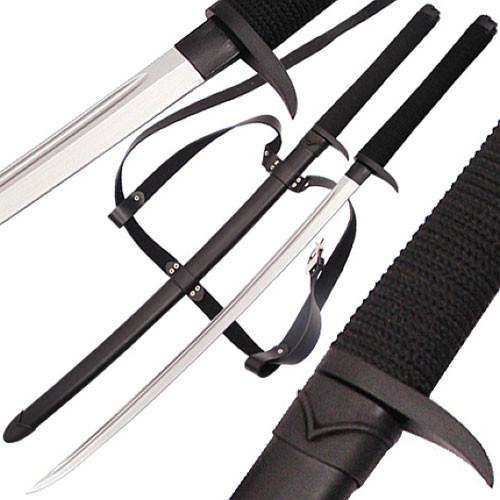 Death Talon Katana - Ryu Ninja Full Tang Sword w/ Back Strap