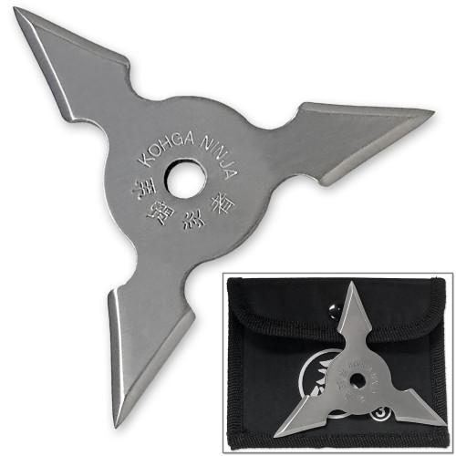 Trinity Blade Koga Ninja Throwing Star