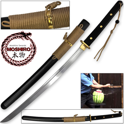 MOSHIRO Modern Sporting Sword Tactical Wakizashi of Honshou