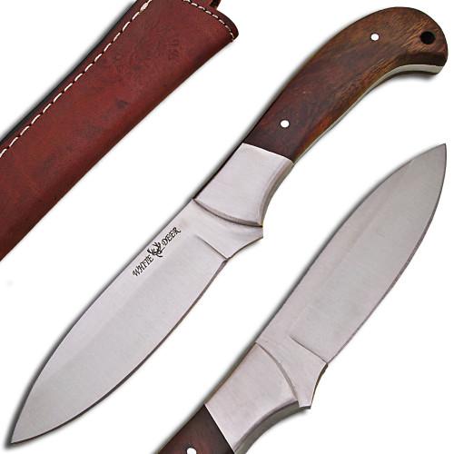 WHITE DEER Full Tang J2 Steel Tactical Knife