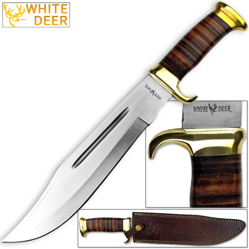 WHITE DEER MAGNUM Outback American Bowie Knife