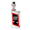 White and Red Smok Alien 220W Box Mod and Baby Beast TFV8 Tank