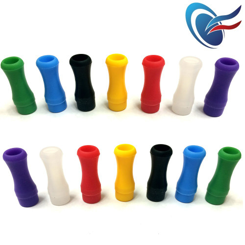 Disposable 510 Silicone Drip Tips - Tester Tips