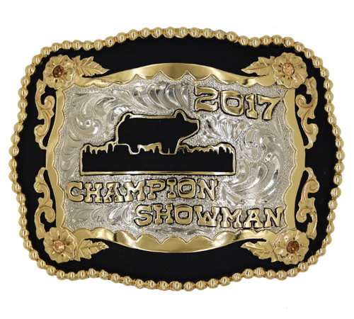 The Grayback Trophy Buckle