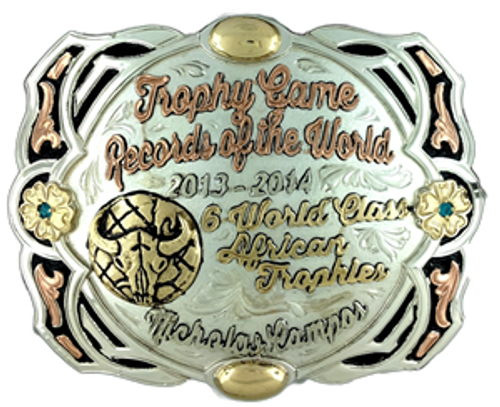 The Slaton trophy buckle