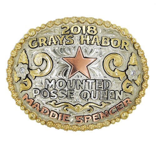 The Katy Trophy Buckle
