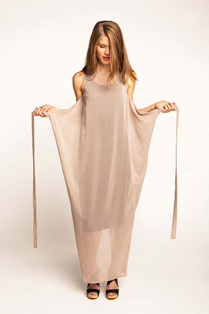 Kielo Wrap Dress By Named Clothing Blackbird Fabrics