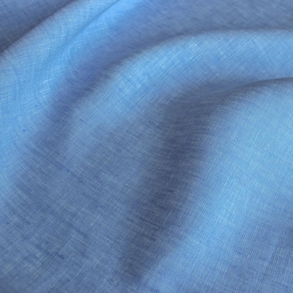 Linen Chambray - Blue  | Blackbird Fabrics