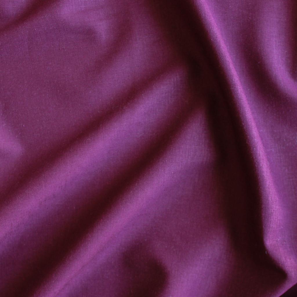 Stretch Linen Viscose - Berry   Blackbird Fabrics