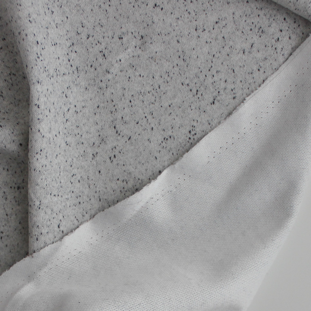 Moon Dust Double Knit - Ecru Speckle | Blackbird Fabrics