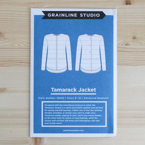 Tamarack Jacket by Grainline Studio | Blackbird Fabrics