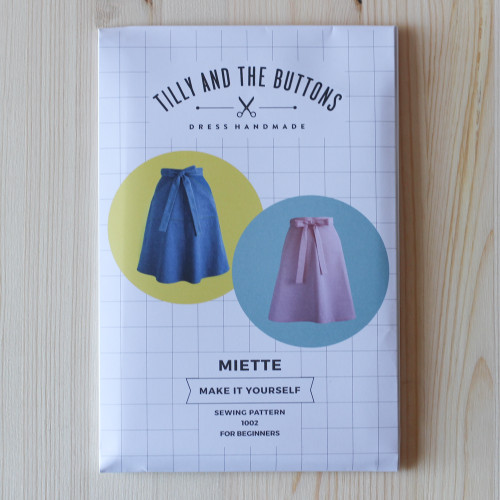 Miette Skirt by Tilly and the Buttons | Blackbird Fabrics