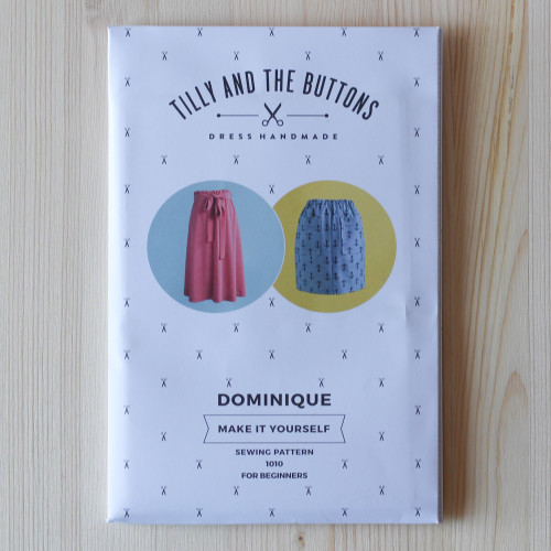Dominique Skirt by Tilly and the Buttons | Blackbird Fabrics