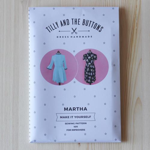 Martha Dress by Tilly and the Buttons | Blackbird Fabrics