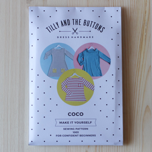 Coco Top & Dress by Tilly and the Buttons | Blackbird Fabrics