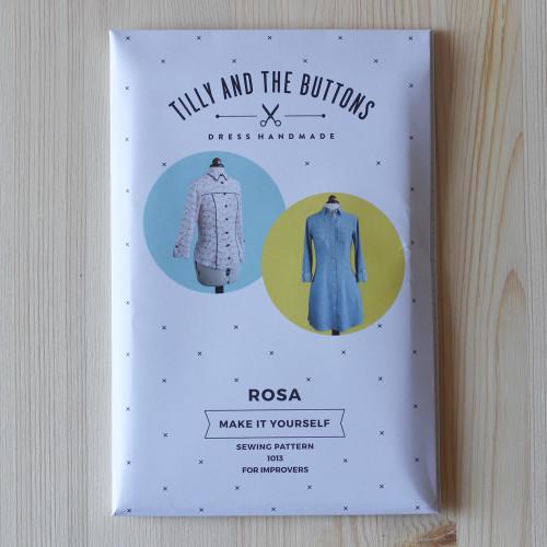Rosa Shirt and Shirt Dress by Tilly and the Buttons | Blackbird Fabrics