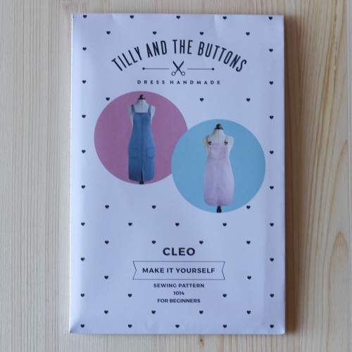 Cleo Pinafore & Dungaree Dress by Tilly and the Buttons | Blackbird Fabrics