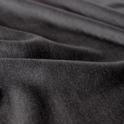 Tencel T-Shirt Knit - Black | Blackbird Fabrics