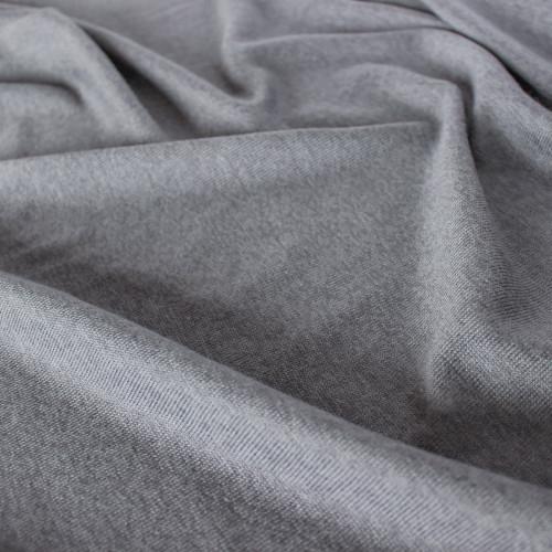 Rayon, Cotton, & Modal Sweater Knit - Steel Grey | Blackbird Fabrics