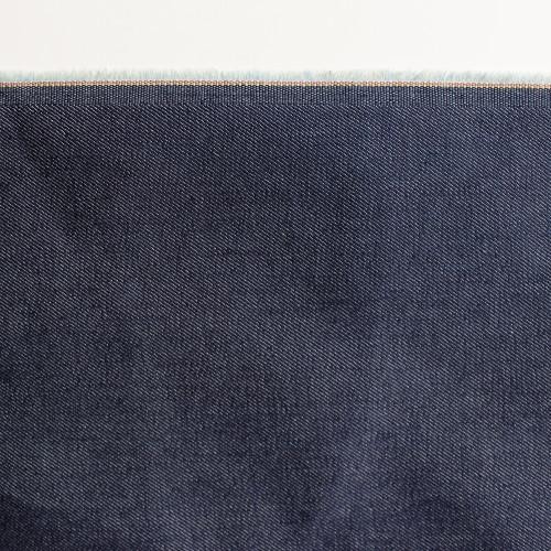 10oz Cone Mills S-Gene Stretch Denim - Dark Indigo | Blackbird Fabrics