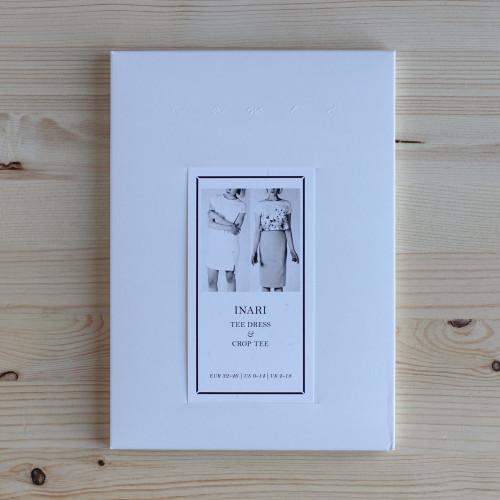 Inari Tee Dress & Crop Tee by Named Clothing | Blackbird Fabrics