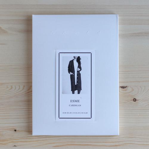 Esme Maxi Cardigan by Named Clothing | Blackbird Fabrics