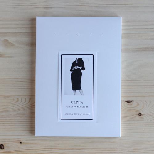 Olivia Jersey Wrap Dress by Named Clothing | Blackbird Fabrics