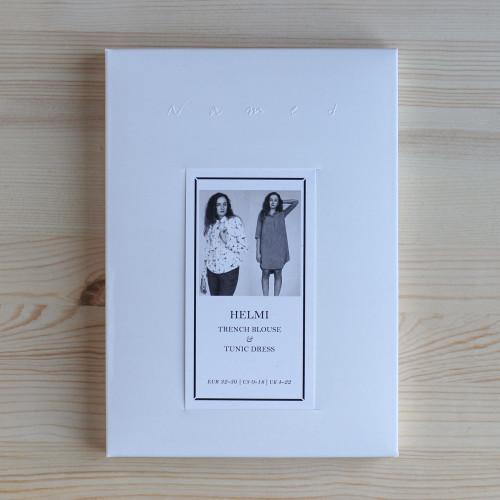 Helmi Trench Blouse & Tunic Dress by Named Clothing   Blackbird Fabrics
