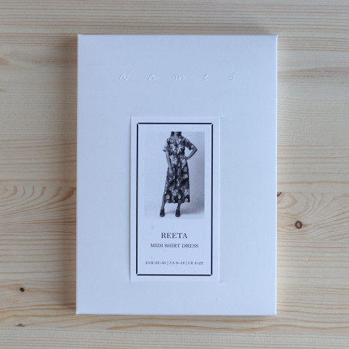Reeta Midi Shirt Dress by Named Clothing | Blackbird Fabrics