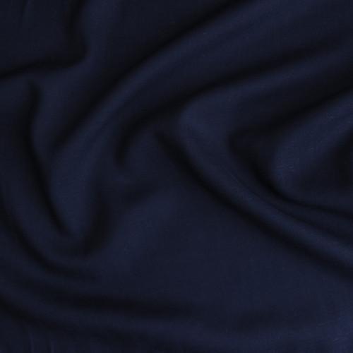 Rayon Linen Voile - Navy | Blackbird Fabrics