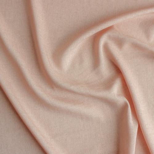 Rayon Linen Voile - Blush | Blackbird Fabrics