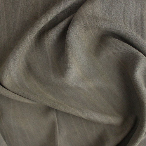 Sandwashed Rayon - Olive | Blackbird Fabrics