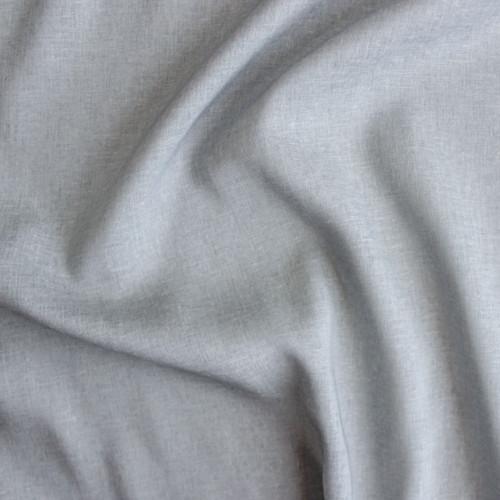 Rayon Linen Voile - Pale Grey | Blackbird Fabrics