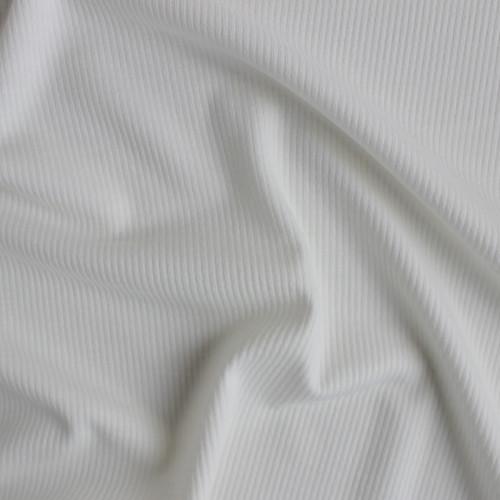 Rib Sweater Knit - Snow | Blackbird Fabrics