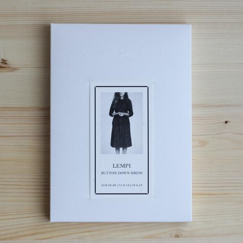 Lempi Button Down Dress by Named Clothing | Blackbird Fabrics