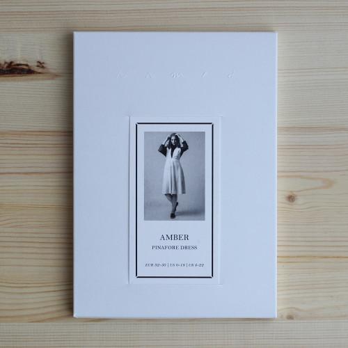 Amber Pinafore Dress by Named Clothing | Blackbird Fabrics