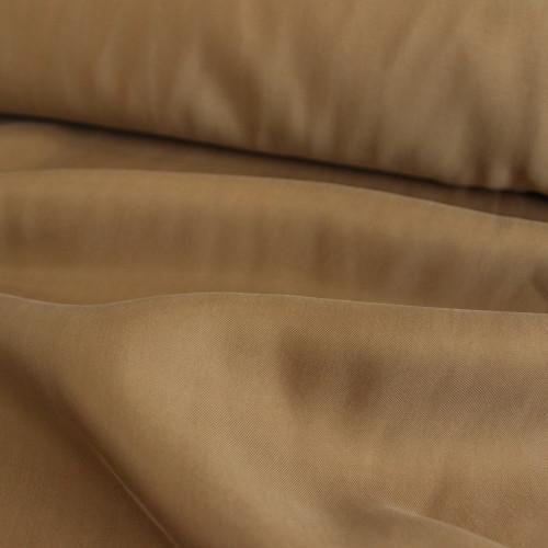 Cupro & Viscose Twill - Bronze | Blackbird Fabrics