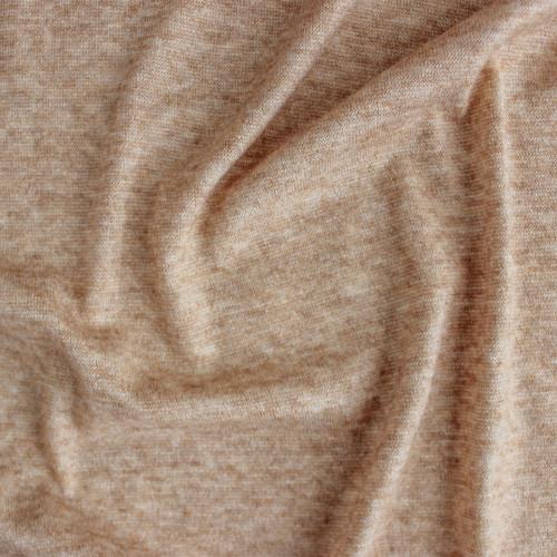 Cloud Sweater Knit - Camel | Blackbird Fabrics