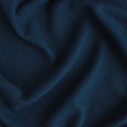 Boiled Wool & Viscose - Navy Teal | Blackbird Fabrics