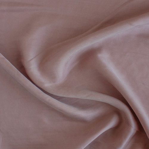 Cupro & Viscose Twill - Dusty Rose | Blackbird Fabrics