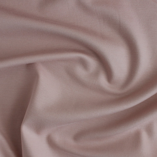 Ponte de Roma Knit - Pale Pink | Blackbird Fabrics
